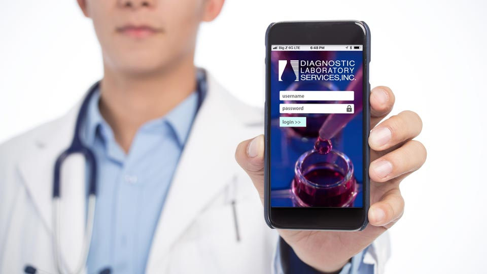 DLS MD Portal Physicians' Mobile App