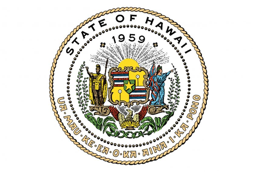 State of Hawaii Proclamation Seal for Lab Week